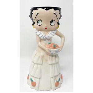 "Betty Boop 7"" Ceramic Figurine Small Vase"